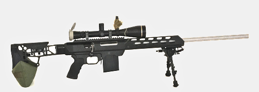 COMPACT flat Sniper Bean Bag with MDT Chassis