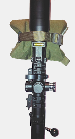 CTS CoreFlat and CTS Webbing System attached to a rifle