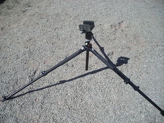 Hog Saddle, Ball Head and Tripod